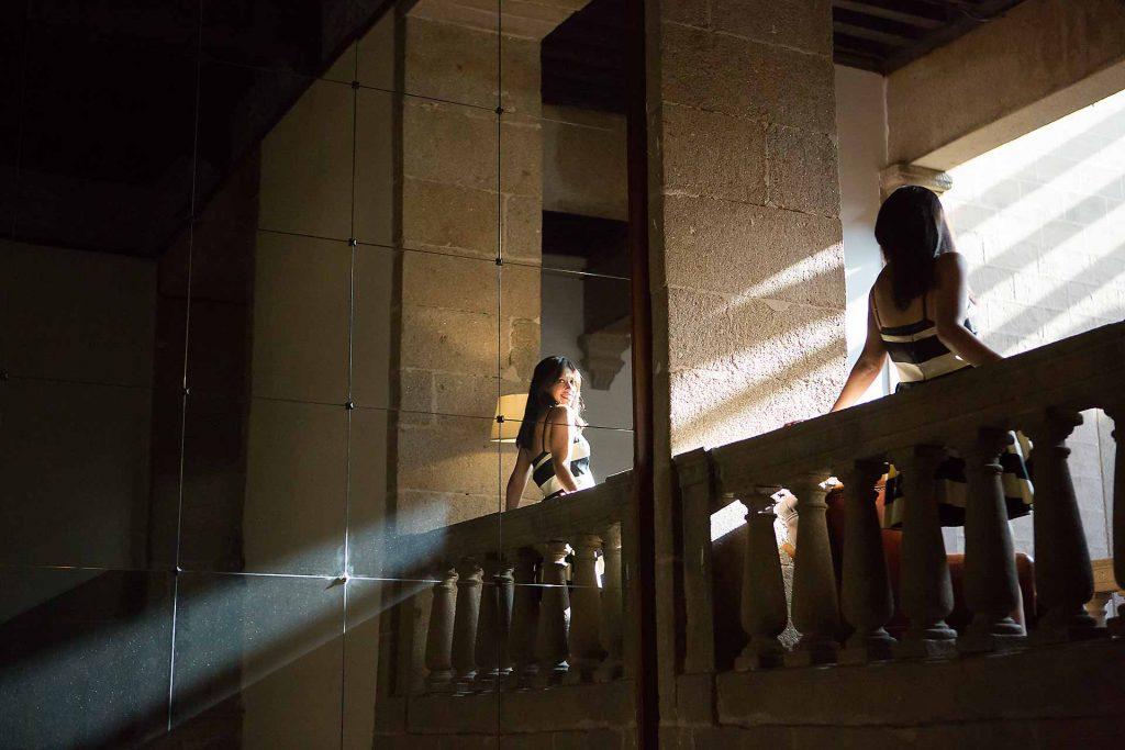 Sesión de fotos en Hotel Palacio Carvajal Girón en Plasencia