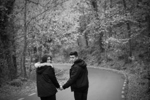 Sesión de fotos romántica en Hervás