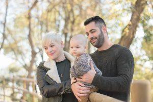 Sesión de fotos familia en Plasencia