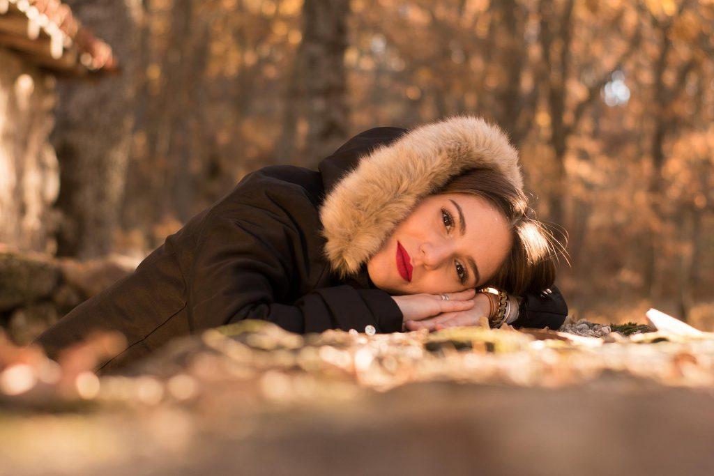Sesión de fotos romántica en el Valle del Jerte