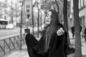 Sesión de fotos urbana en Madrid